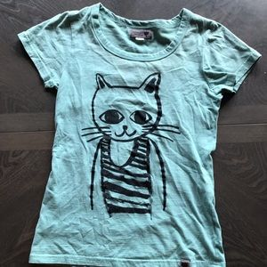 Anthropologie Numph Graphic Tee